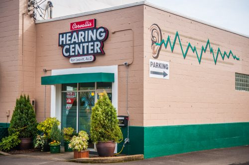 Corvallis Hearing Center on 9th Street in Corvallis