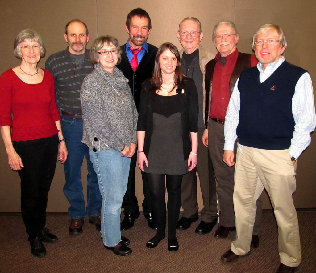 Group of Hearing Aid Product Testers with Dr. Ron Leavitt in Corvallis, Oregon.
