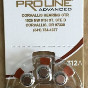 Rayovac 312A Hearing Aid Batteries available at Corvallis Hearing Center Corvallis, Oregon